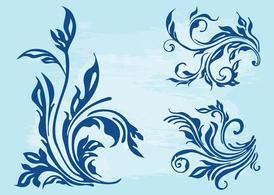 Floral Scrolls Layouts