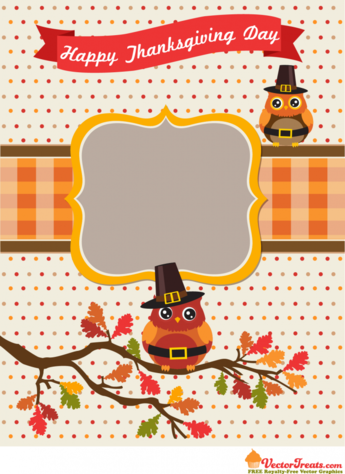 Thanksgiving Vector Graphics That Are Thankfully Free