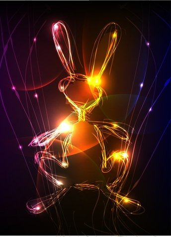 Cool Vector Graphics Symphony Of Light
