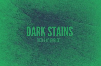 Dark Stains - Photoshop Brush Set