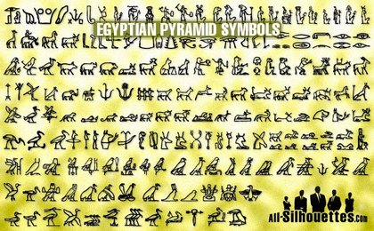 183 Egyptian pyramid symbols