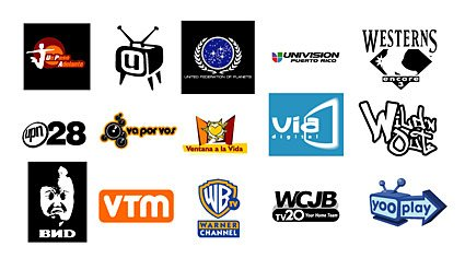Selected foreign media Vector LOGO material -6 (end)