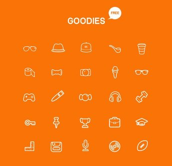 Goodies Icon Set