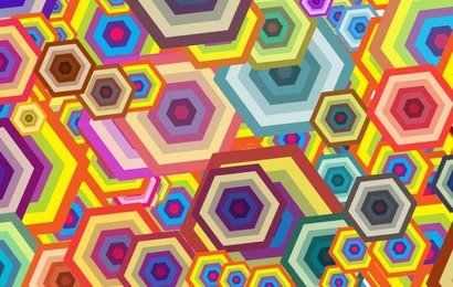 Free Vector Wallpaper - Polygon Free Polygon Shapes
