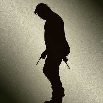 Vector Silhouette Gangster