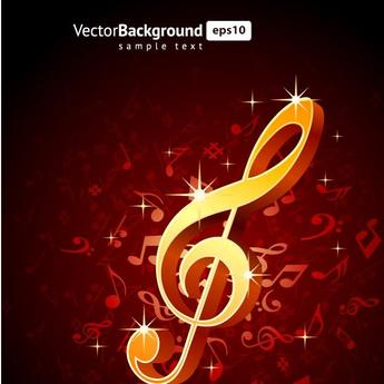 MUSIC THEME BACKGROUND VECTOR.eps
