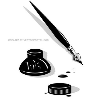 PEN AND INK VECTOR GRAPHICS.eps
