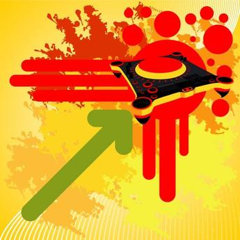 COLORFUL MUSIC POSTER VECTOR.eps