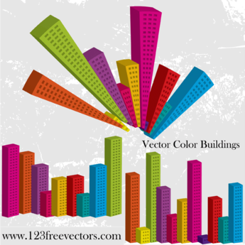 Vector Color Buildings