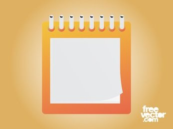 Square Layout Blank Notepad