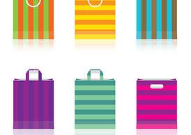 Colored Paper Bag Vectors