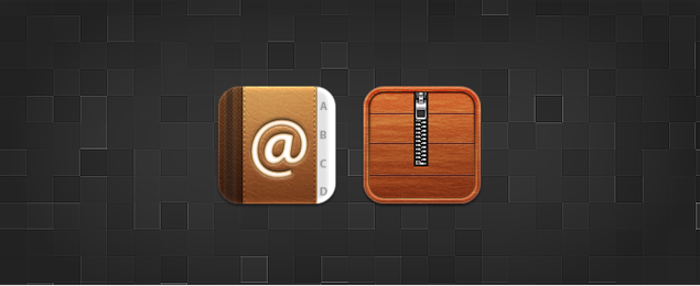 Contacts and Cydia Replacement Icons