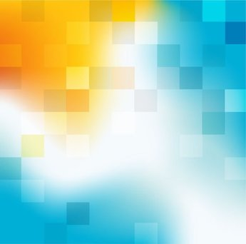 Colorful Background with Abstract Shapes