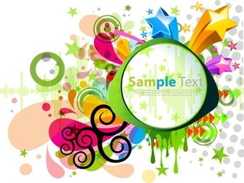 Abstract Modern Colorful Design
