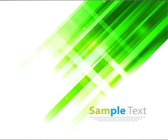 Abstract Design Green Background