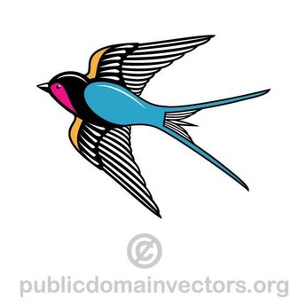 SWALLOW VECTOR IMAGE.eps