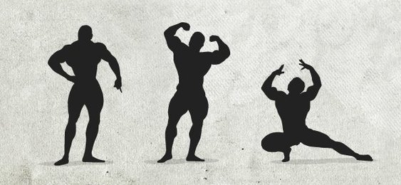 Fitness Silhouettes Set 1