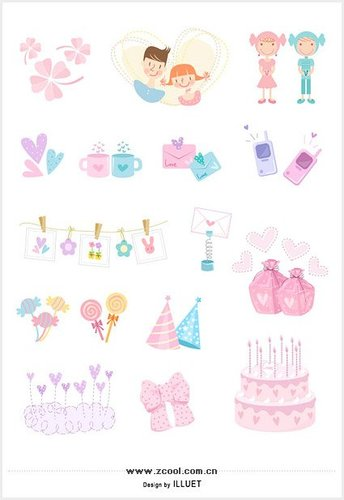 Lovely items icon