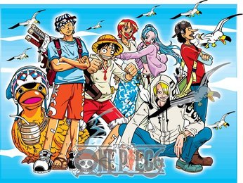 Vector One Piece One Piece