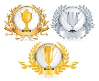 Yellow Gold trophy