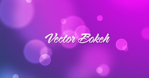 Scalable Vector Bokeh