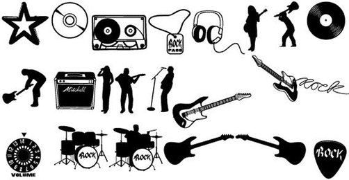Music Free Vector Pack