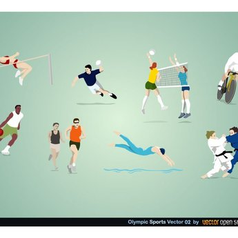 OLYMPIC SPORTS DISCIPLINES VECTOR.ai