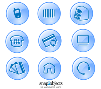 9 eCommerce Vector Icons Free