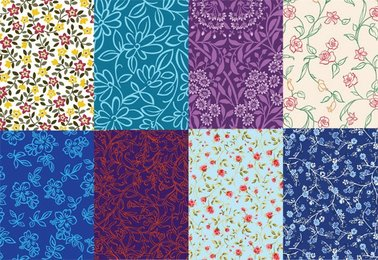 8 cute little background pattern