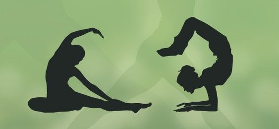 Yoga Silhouettes Set 1