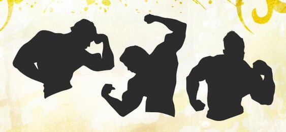Fitness Silhouettes Set 2