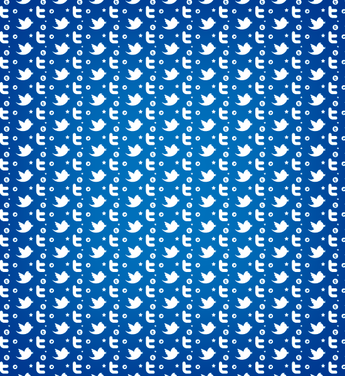 Twitter Seamless Photoshop And Illustrator Pattern