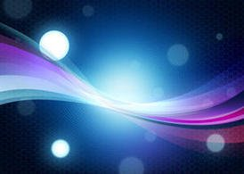 Abstract colorful background with bokeh effect