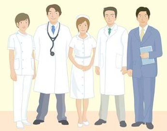 Medical person vector 10