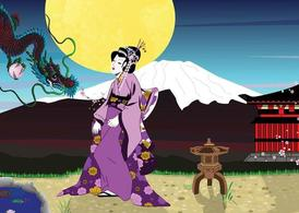 Geisha Background