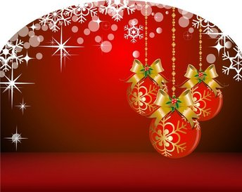 Background And Christmas