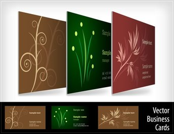 Threedimensional Renderings Show Business Card