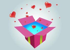 Gift With Hearts
