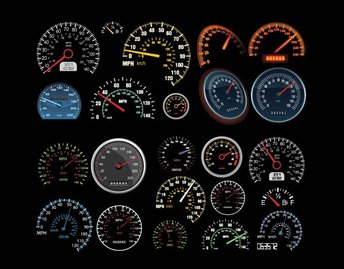 Speedometer and Counter