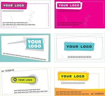 5 Sets Of A Beautiful Business Card Template
