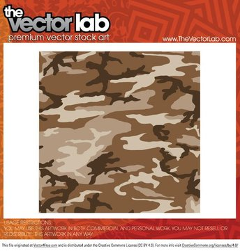 Camouflage Vector Pattern