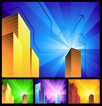 Highrise Buildings With
