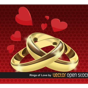 RINGS OF LOVE VECTOR.ai