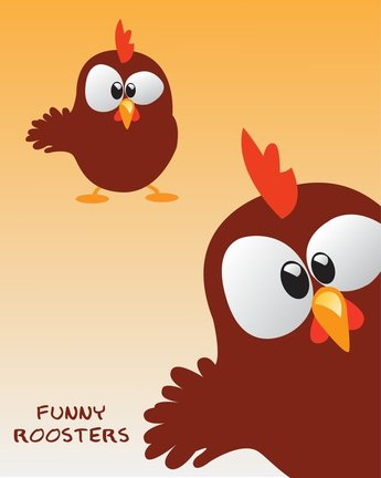 Free Funny Rooster