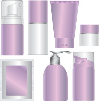 Blank Skin Care Products Cosmetics Packaging
