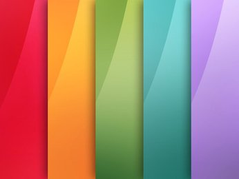 5 Blurred Gradient Backgrounds