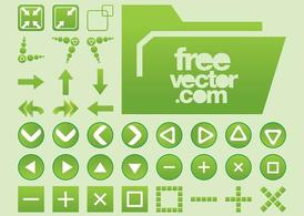 Vector Interface Buttons