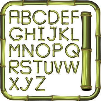 Bamboo Creative Letters 01