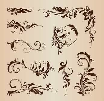 Floral Design Element Collection