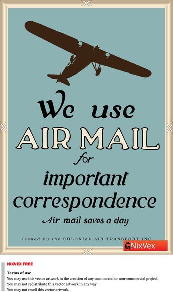 "Nixvex , u"""""": uWe Use Air Mail"" Free"